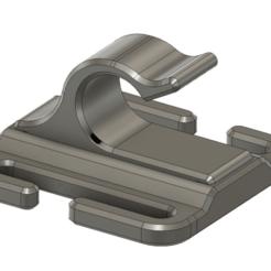 Impresiones 3D gratis MOLLE Water Tube Clip (Camelbak), colinp_hughes