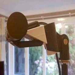 Descargar diseños 3D gratis Conector de cámara PS4 PSVR (3 opciones de montaje), colinp_hughes