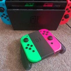 20200810_180437.jpg Download STL file Nintendo Switch Joy-Con Comfort Grip (Original) • 3D print template, colinp_hughes