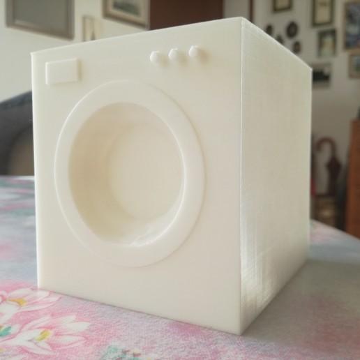 Download STL file washing machine basic model • 3D printing object, Entropia_95