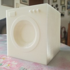 Download free 3D printing designs washing machine basic model, Entropia_95