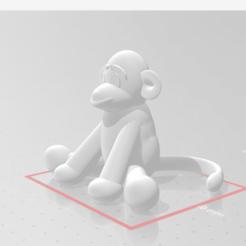 Screenshot (40).png Télécharger fichier STL gratuit singe chaussette (Whoo-Whoo) • Design à imprimer en 3D, choppadechop