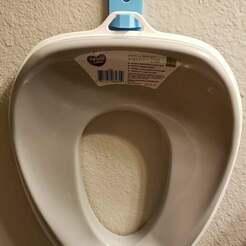 Toilet_Seat.jpg Download free STL file Kid's Toilet Seat Mount • 3D printable model, SpudCommander