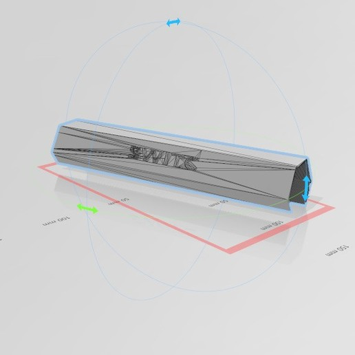 Download free 3D printer designs Personal Shopping Cart Handle COVID-19 Barrier, 3DFanatics