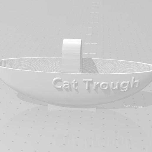 Download free 3D printer designs Faucet Cat Trough, 3DFanatics