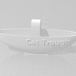 Download free 3D printer designs Faucet Cat Trough, 3DFanatics