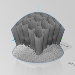 Penholder 3.jpg Télécharger fichier STL gratuit Porte-stylo de bureau ergonomique • Plan imprimable en 3D, 3DFanatics