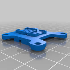 TBS_Race2__Crossfire_Nano.png Download free STL file TBS Race2 & Crossfire Nano Mount 30.5 x 30.5 • 3D printable model, Br8knitOFF