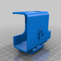 chameleon_TI_hero8_mount.png Download free STL file Armattan Chameleon Ti GoPro Hero 8 Mount • 3D print design, Br8knitOFF
