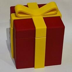 20201227_161030.jpg Download free STL file Gift Box 100 • 3D print model, BePrint