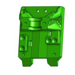 Download free 3D printing models modified X carriage Belt mounts, BePrint