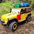 Télécharger plan imprimante 3D gatuit Grille latérale échelle 1/8 Jeep de 3dsets, dumbon74