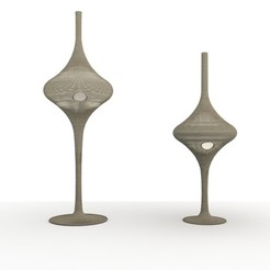 gervasoniclamp2.jpg Download STL file lamps gervasoni spin s • 3D printable design, felipepipe123