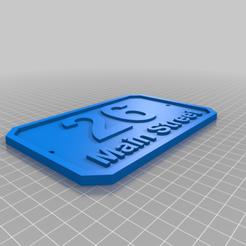 Download free 3D printer designs Name Test, striteskyondrej