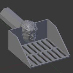 Download free 3D printer designs Trump Pooper Scooper - FREE, bbad