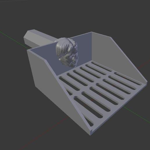 Télécharger fichier imprimante 3D gratuit Hillary Clinton Pooper Scooper - GRATUIT, bbad