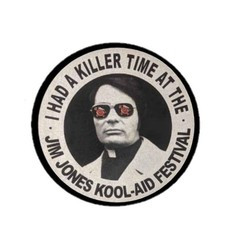 Jim Jones.jpg Télécharger fichier STL gratuit Lithopane Killer Time- Jim Jones (Humour noir) • Plan à imprimer en 3D, yinyang4ever