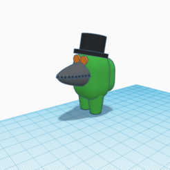 Plague Mask Among Us.png Download STL file Among Us Crewmate Plague Mask • 3D printing template, bluenichols