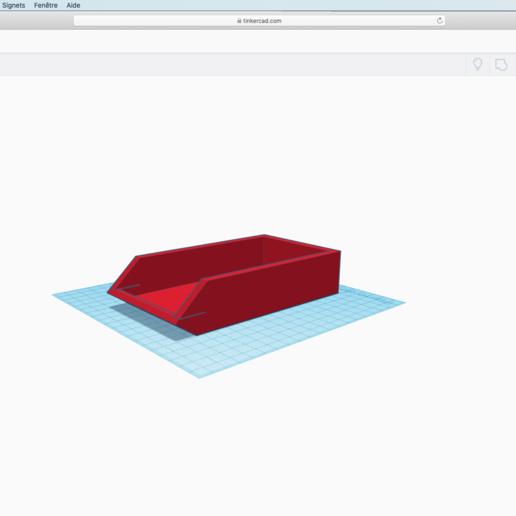 Télécharger fichier STL gratuit Bac a Téléphone • Plan pour imprimante 3D, theomast05