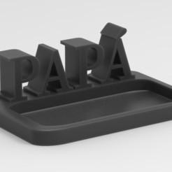 adorno papa.jpg Descargar archivo STL DECORACION DE MESA DIA DEL PADRE • Diseño para la impresora 3D, neutronmorenojj