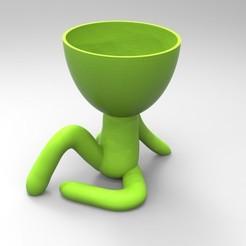 Download 3D printer model little man matera, neutronmorenojj