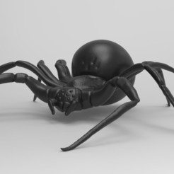 Download free STL files spider, neutronmorenojj