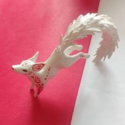 Download STL files decorative alebrije fox jumping, neutronmorenojj