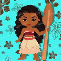 MOana 4.PNG Download STL file Moana Cookie and Fondant Cutter with Embosser • Template to 3D print, 3DSweetBakery