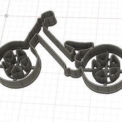 Impresiones 3D Balance Bike Cookie/Fondant Cutter, harold6