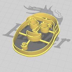 BL1.JPG Download STL file Buzz Lightyear Cookie/Fondant Cutter  • 3D printer design, 3DSweetBakery