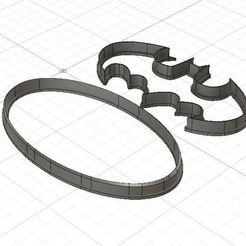 Descargar modelos 3D para imprimir Batman Logo Cookie/Fondant Cutter, harold6