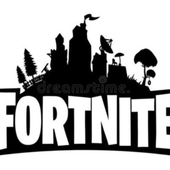 Fortnite.jpg Download STL file Fortnite Logo Cookie Fondant / Cutter with Marker • 3D printer object, 3DSweetBakery