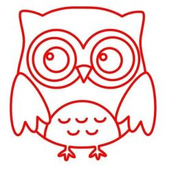Buho marcador.JPG Download STL file Owl Cookie / Fondant Cutter with Marker • 3D printer design, 3DSweetBakery