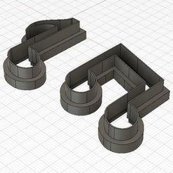 Descargar archivo 3D Mini Musical Notes Fondant Cutter, harold6