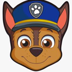Chase.png Télécharger fichier STL Biscuit de chasse à la patrouille de patrouilles / Coupe-fondant avec marqueur • Design pour impression 3D, 3DSweetBakery