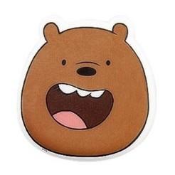 Pardo.jpg Télécharger fichier STL We Bare Bears Grizzly Cookie / Coupeur de fond avec marqueur • Plan à imprimer en 3D, 3DSweetBakery