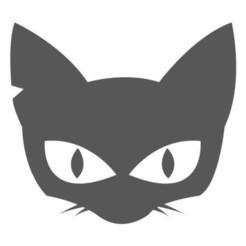 Cat1.jpg Télécharger fichier STL Biscuit de chat noir d'Halloween / Coupeur de fondants avec marqueur • Design à imprimer en 3D, 3DSweetBakery