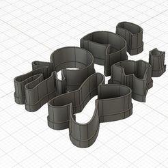 Descargar modelo 3D Mini Thinkerbell Fondant Cutter, harold6