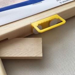 Télécharger STL Cintre pour cadres en bois (utiliser des chevilles pour fixer), TimoMo