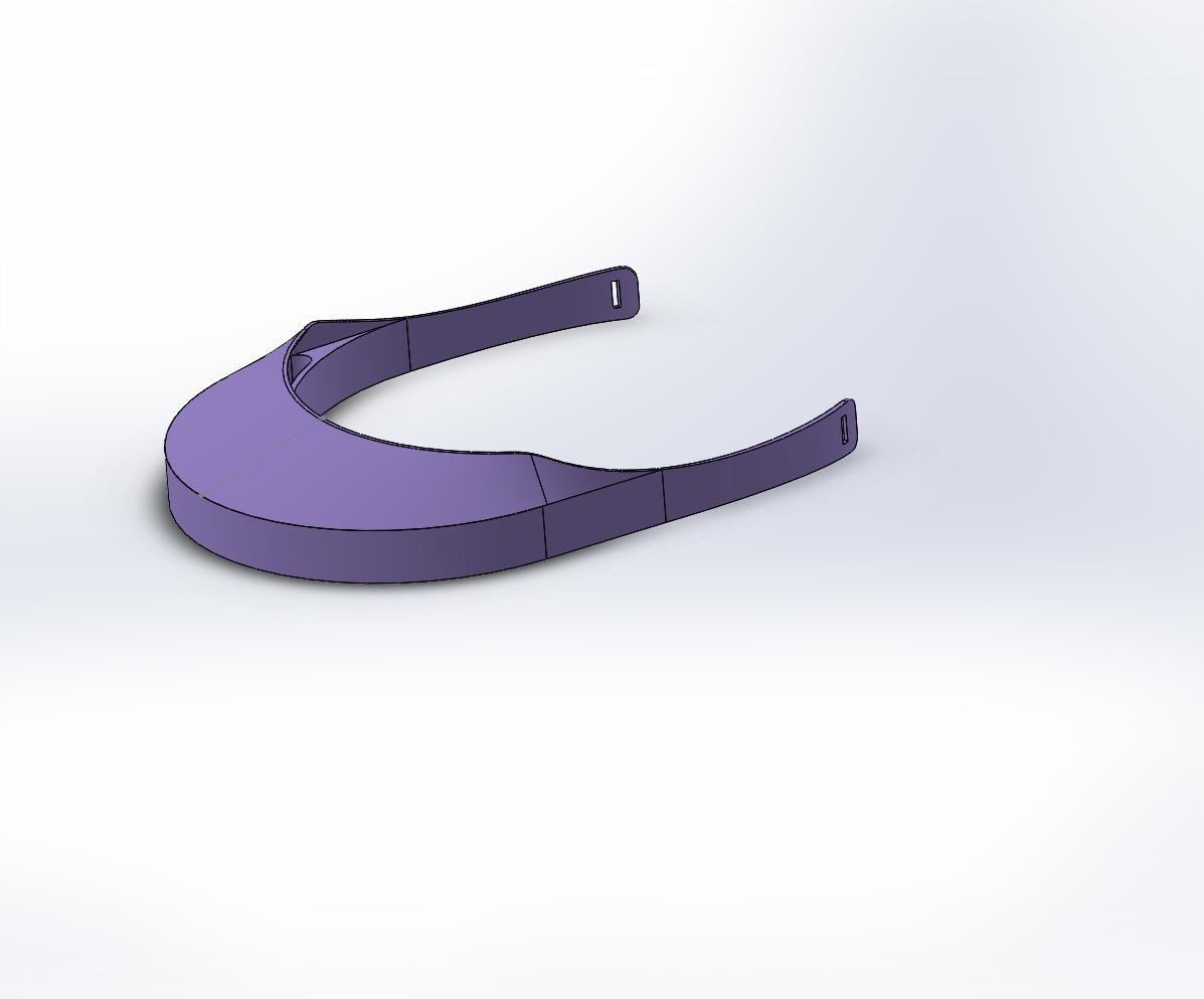mascara tiguer woods sin soporte.JPG Download free STL file ECONOMIC MASK COVID19 with visor without brackets leaves 18 x kg • 3D print design, Titosoft