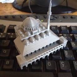 Download free 3D printer designs Rustem Pasha Mosque Fixed, iSuat