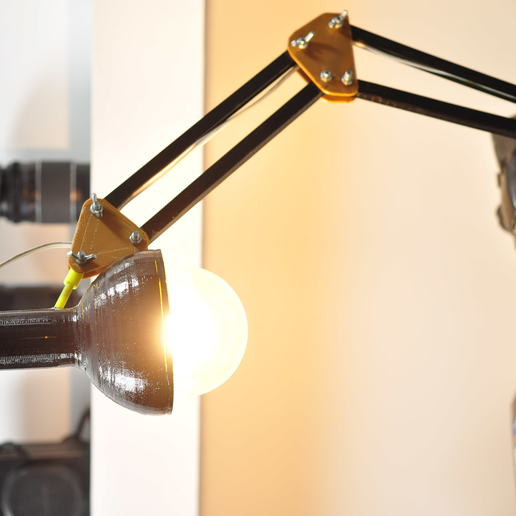 lam 3.jpg Download STL file LED Architect's Lamp (ERI:) • Object to 3D print, ErickAlexander161