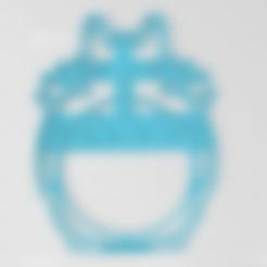 Download 3D printing files Totoro Cookie Cutter, VeryCutterCookie