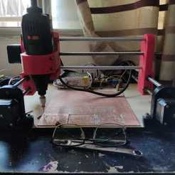 WhatsApp Image 2020-08-26 at 10.52.25.jpeg Download STL file cnc milling machine grbl arduino improved version • Template to 3D print, alexis160599