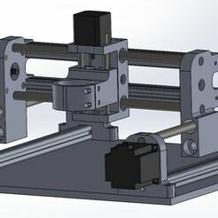 Ensamblaje2.JPG Download STL file CNC GRBL NEMA 23 • 3D printable template, alexis160599