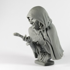 Download 3D printing templates BABA YAGA, evilminiatures