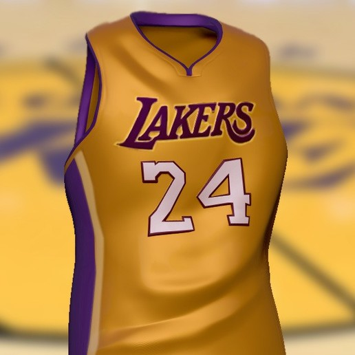 Download free STL file Kobe Bryant T