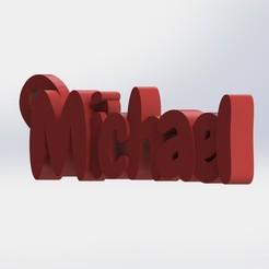 1.JPG Télécharger fichier STL Porte-clé Michael • Design pour imprimante 3D, Cosplay3D
