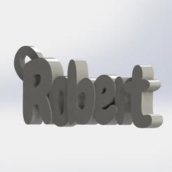 Télécharger fichier STL Robert Porte-clé, Keychain3D