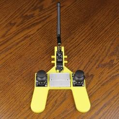 joystick0003.JPG Télécharger fichier STL Z3D NRF24L01 ARDUINO RC Joystick • Modèle pour imprimante 3D, kc0dnt